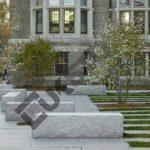 Architektura ogrodowa z boków granitowych