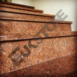 Schody granitowe, stopnie i podstopnice VANGA