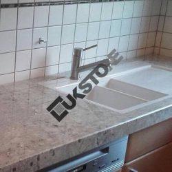 Blat kuchenny granitowy (Colonial White)